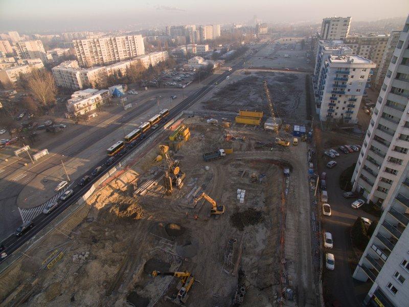 Południowa obwodnica Warszawy filmy z budowy